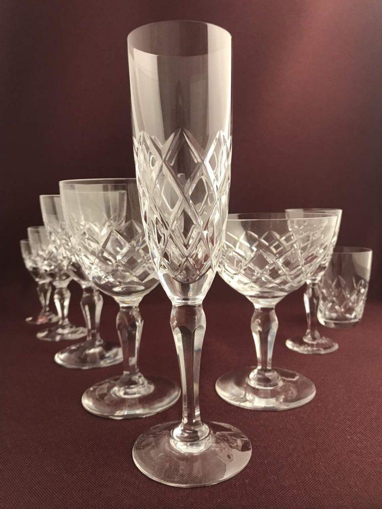 Orrefors - Karolina - Champagne Strut / glas Design Gunnar Cyren
