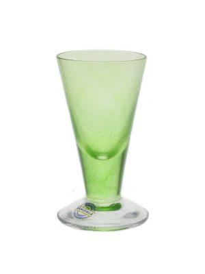 Bergdala Hyttan - Piggelin 6 st snapsglas grön Design