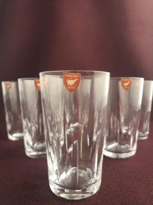 Orrefors - Segel - 6 st Whiskey / Selterglas design Ingeborg Lundin