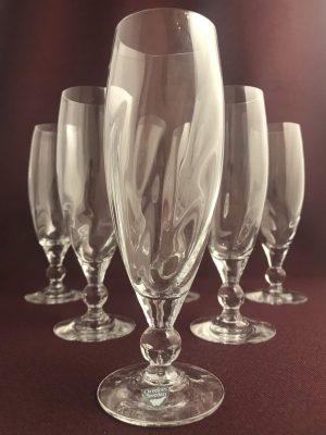 Orrefors - Mistral - 6 st Champagne glas design Erika Lagerbielke
