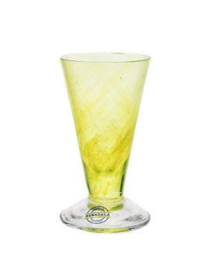 Bergdala Hyttan - Piggelin 6 st snapsglas gul Design