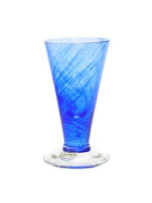 Bergdala Hyttan - Piggelin 6 st snapsglas blå Design