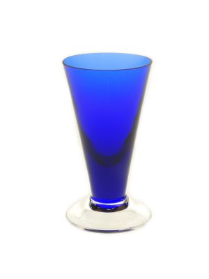Bergdala Hyttan - Piggelin 6 st snapsglas Mörkblå Design
