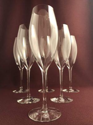 Reijmyre - Juhlin - 6 st Champagne glas design Richard Juhlin