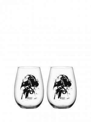 Kosta Boda - 2st Whisky glas - ALL ABOUT YOU - HIM Design Sara Woodrow