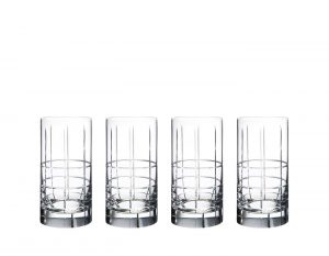 Orrefors - Street - 4 st highball glas Design Jan Johansson