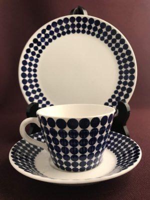 Gustavsberg - Adam - Kaffe kopp & fat med Assiett Design Stig Lindberg