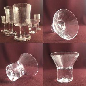 Pukeberg - Rustika - 4 st cocktailglas Design: Göran Wärff