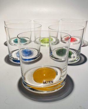 Ulven - Linda - 6 st Whiskey glas - Design Linda / Micke Erlandsson