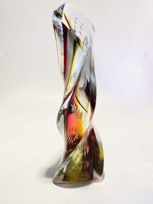Ulven - Twisted Rainbow - Unikat Design Stefan Erlandsson