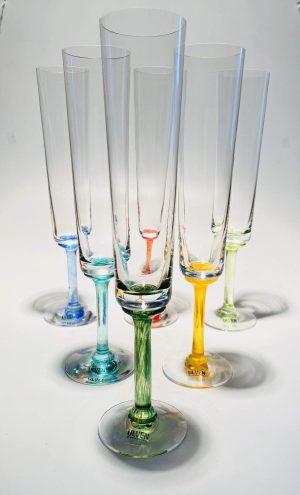 Ulven - Linda - 6 st Champagne glas - Design Linda / Micke Erlandsson
