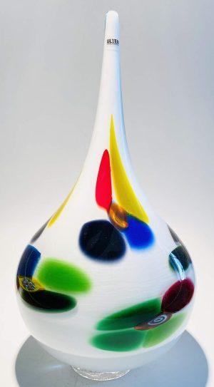 Ulven - Multicolour Konstglas - Unikat vas Design Stefan Erlandsson