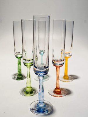 Ulven - Linda - 6 st Snaps glas - Design Linda / Micke Erlandsson