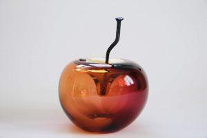 Happy Apples - Amber Limiterat Unikat design Elzbieta Larsten