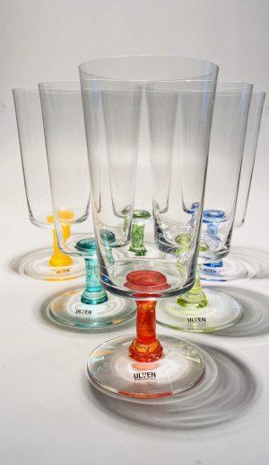 Ulven - Linda - 6 st Öl glas - Design Linda / Micke Erlandsson