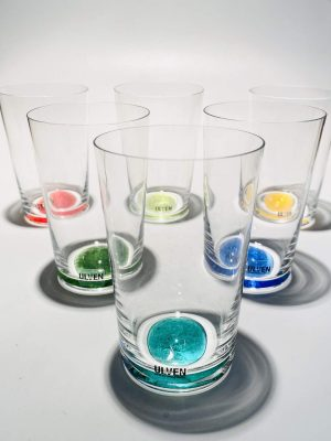 Ulven - Linda - 6 st Vatten / Selter glas - Design Linda / Micke Erlandsson