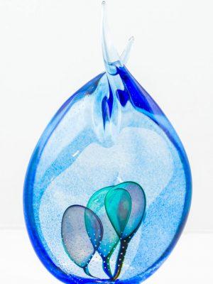 Oldergaard - Droppe - Kristall skulptur - Unikat design Robert Oldergaarden