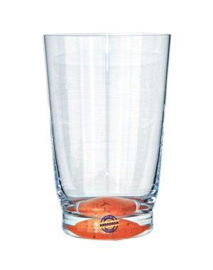 Bergdala Hyttan - Confetti - 6 st Läsk / Öl glas Design Lars Axelsson