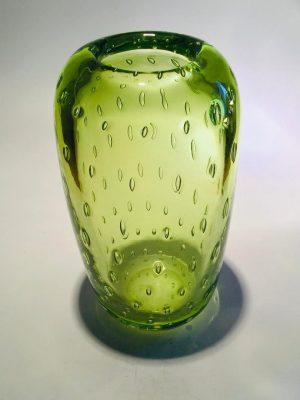 Ulven - Bubbels - Kristall Vas - Lime Design Mikael Erlandsson