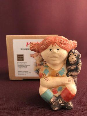Gustavsberg - Figurin Pippi & Herr Nilsson design Lisa Larson