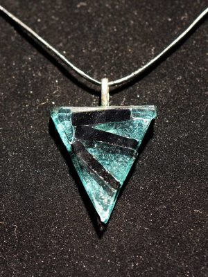 Glasprinsen - Halsband - Glas / Metall design Dennis Lönnetun