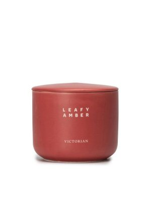 Victorian - Doftljus - Candle Leafy Amber