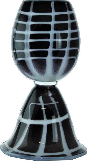 Bergdala Hyttan - Konstglas - Domino Unikat Design Roger Johansson