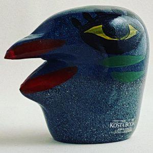 Kosta Boda - Miniatyr fågel Design Ulrica Hydman vallien