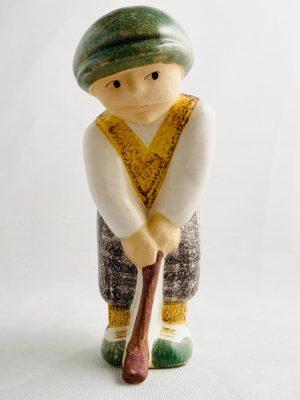 Gustavsberg - Golfspelare - Man design Lisa Larson