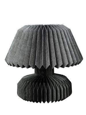 Lampa - 2 st Bordslampor - Hensi svart Design ByOn