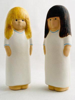 Gustavsberg - Snälla systrar Lina & Eva-Lina design Lisa Larson