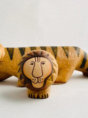 Gustavsberg - Klassiska Tigern & Lilla lejon design Lisa Larson
