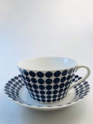 Gustavsberg -Ny Adam - 5 st Kaffe kopp & fat Design Stig Lindberg