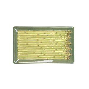 Plate Asparagus - 6 st Sparris Tallrikar Design ByOn