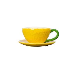 Lemon - 4 st The Koppar med Fat - Citron Design ByOn