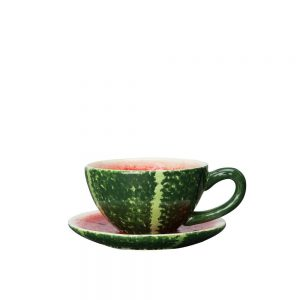 Watermelon - 4 st The Koppar med Fat - Vatten Melon Design ByOn