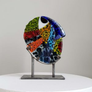 Art By Anne Naïve - Human enlightenment Pandemic Unikat - Anne Felicie Nickels