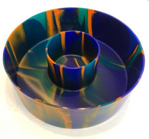 INZIDEOUT - Silikon Form/skål tillverkad på Gotland Design Jeanette Karsten