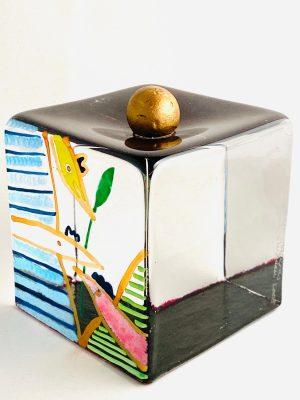 Målerås - Joy Of Life - Kub - Unikat Guldägg Design Jeanette Karsten
