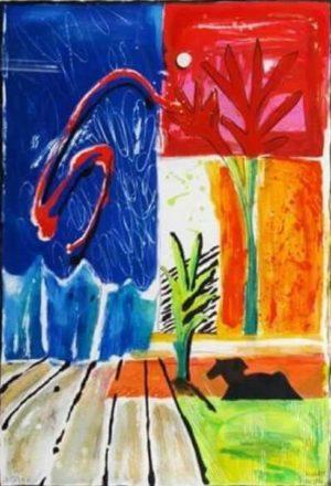 Litografier - Joy Of Life - Limiterad upplaga 375 ex Design Jeanette Karsten