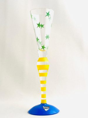 Orrefors - Clown - Snapsglas Design Anne Nilsson