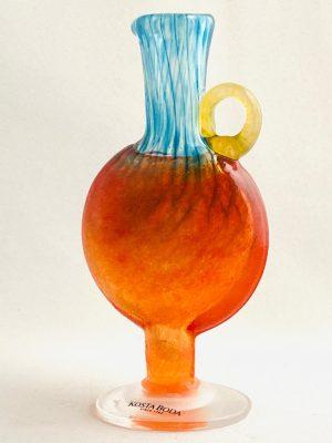 KostaBoda - Bon Bon - Miniatyr flaska signerad design Kjell Engman