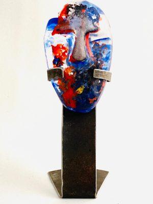 Glasprinsen - Stardust - Human - Nr 43 limiterat 100 Ex design Dennis Lönnetun