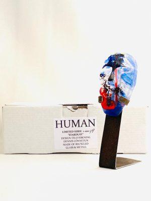Glasprinsen - Stardust - Human - Nr 49 limiterat 100 Ex design Dennis Lönnetun