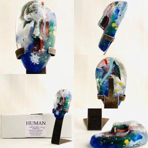 Glasprinsen - Stardust - Human - Nr 42 limiterat 100 Ex design Dennis Lönnetun