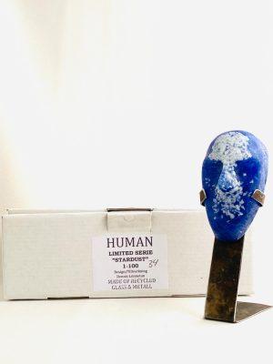 Glasprinsen - Stardust - Human - Nr 34 limiterat 100 Ex design Dennis Lönnetun