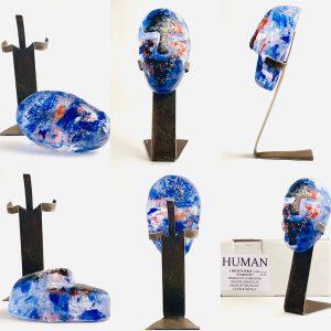 Glasprinsen - Stardust - Human - Nr 52 limiterat 100 Ex design Dennis Lönnetun