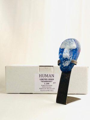 Glasprinsen - Stardust - Human - Nr 40 limiterat 100 Ex design Dennis Lönnetun