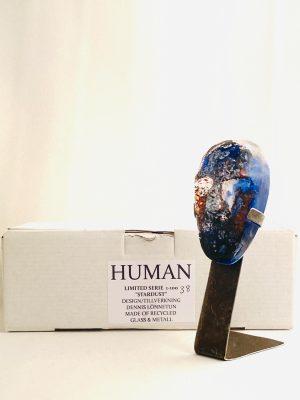 Glasprinsen - Stardust - Human - Nr 38 limiterat 100 Ex design Dennis Lönnetun