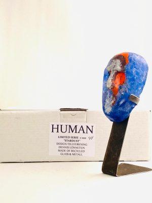 Glasprinsen - Stardust - Human - Nr 41 limiterat 100 Ex design Dennis Lönnetun